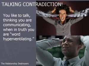 Talking Contradiction