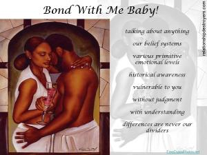 Bond with me baby2