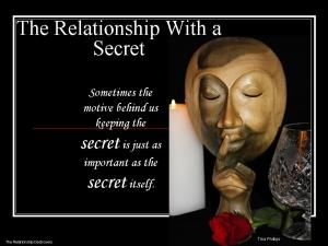 Relationship With a Secret2