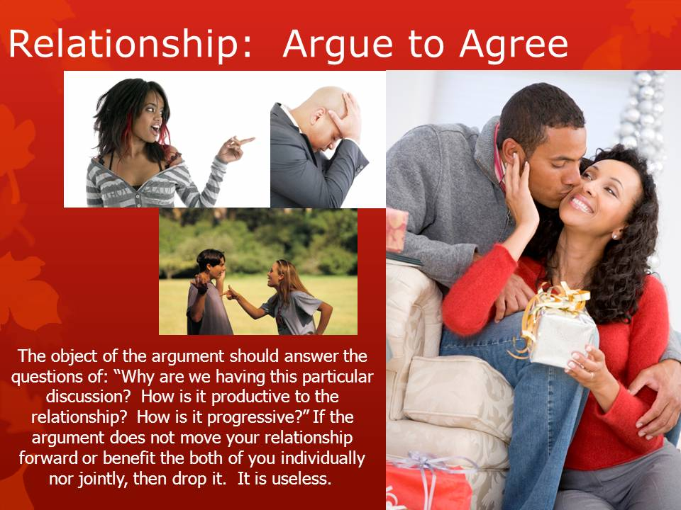 is it normal to not argue in a relationship