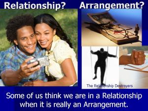Relationship or Arrangement2
