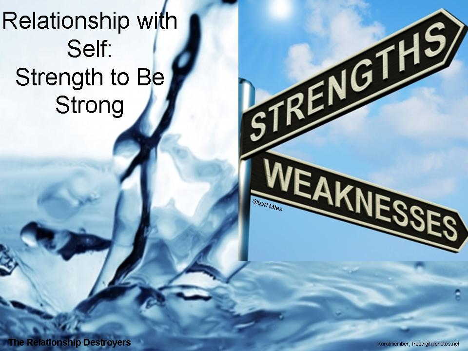 strengths and weaknesses in a relationship