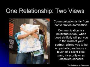 One Relationship Two Views