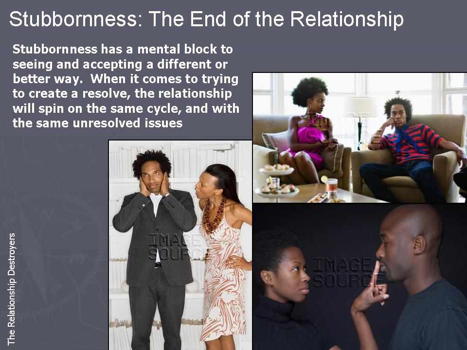 How to resolve issues in a relationship
