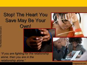 Stop! The Heart You Save May Be2