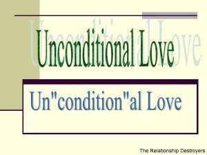 Unconditional Love2