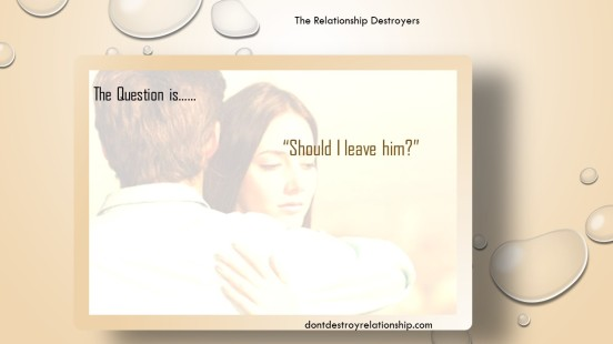 The Relationship Destroyers | Learn about the emotional drivers that